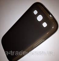 Чехол (силиконовая накладка) для телефона Huawei Honor 3C черный