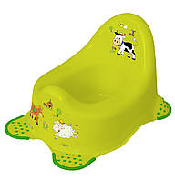 Горшок для ребенка со спинкой Funny Farm Keeeper