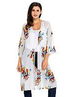 Летняя женская накидка кимоно