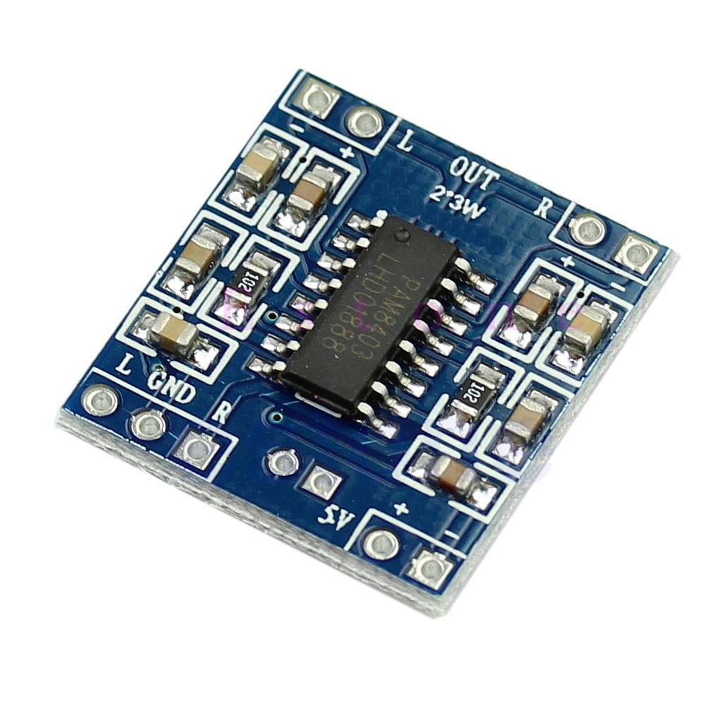 Цифровий підсилювач 3W+3W