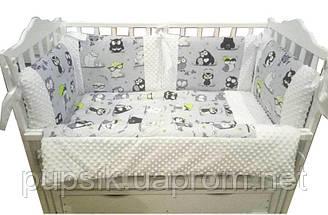Постельный комплект для новорожденного Labona BABY SOFT для овальной и прямоугольной кроваток (6 эл)