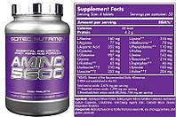 Аминокислоты Scitec Nutrition Amino 5600 (1000шт., производитель ВЕНГРИЯ, bcaa)