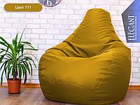 Кресло мешок, бескаркасное кресло груша Standart, мягкий пуфик, бескаркасная мебель, мебель Лофт, Loft, пуф ХЛ 105*85 см, морская волна 216