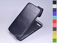 Откидной чехол из натуральной кожи для Asus Zenfone 4 Max ZC554KL