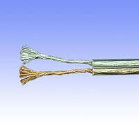 Кабель акустический 2х2,1 медь прозрачный