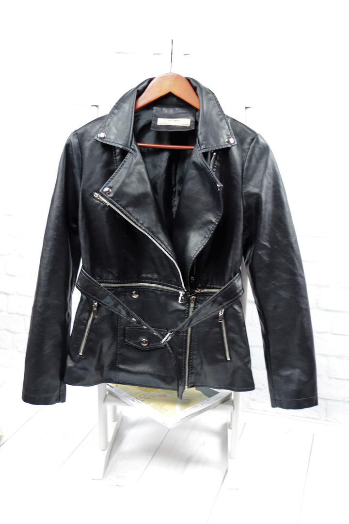 Женская стильная куртка - болеро: 2 в 1 на молниях (БР-4-0418)