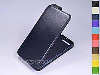Откидной чехол из натуральной кожи для Asus Zenfone 4 Pro ZS551KL
