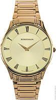 Часы Romanson TM0389MG GD кварц. браслет