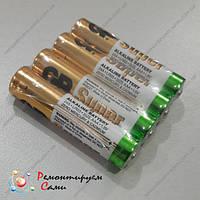 Батарейка микропальчиковая 1,5V AAA LR03 GP Super Alkaline