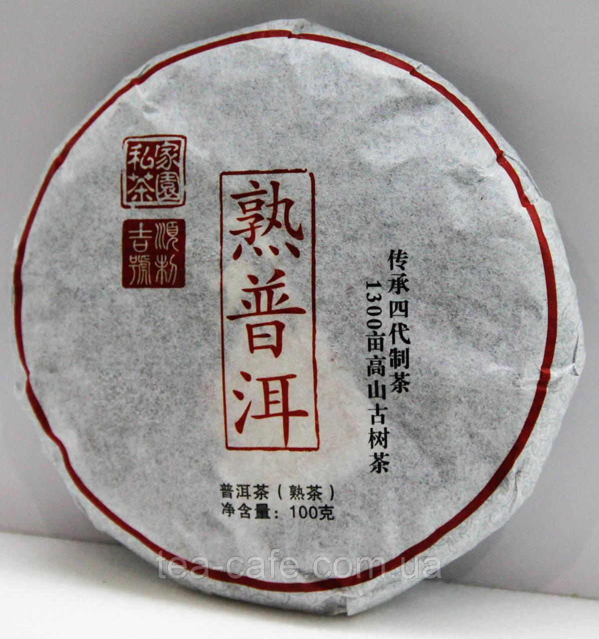 Чай Шу Пуер (черній) 100гр