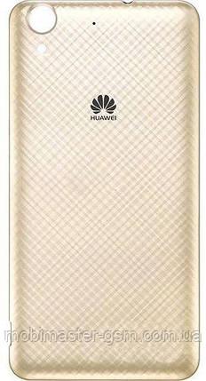 Задняя крышка Huawei Y6 II золотистая, фото 2