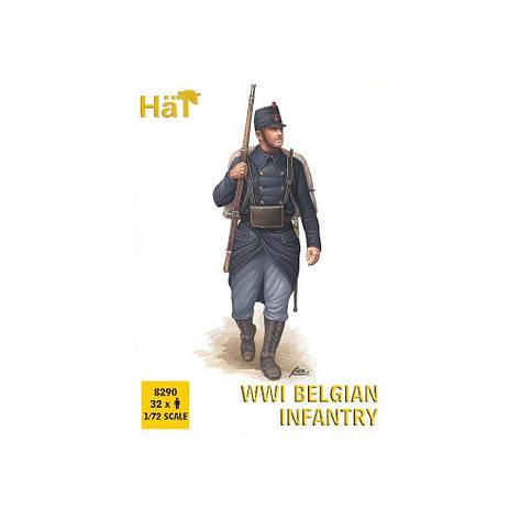 WWI BELGIAN INFANTRY. 1/72 HAT 8290, фото 2