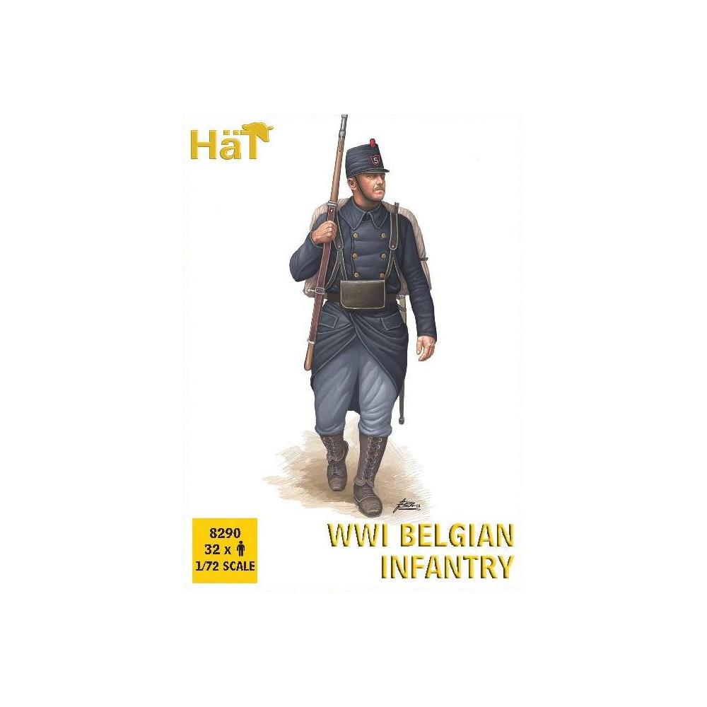WWI BELGIAN INFANTRY. 1/72 HAT 8290