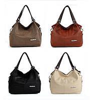 Женская кожаная летняя  сумка  через плечо WeidiPolo  все цвета