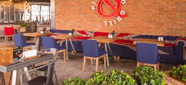 Ресторан Pizza@Grill  г. Одесса  Аркадия  7