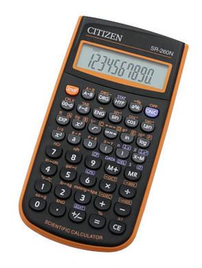 Калькулятор Citizen SR-260NOR научный, 165 формул, фото 2