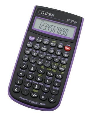 Калькулятор Citizen SR-260N научный, 165 формул, фото 2