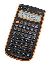 Калькулятор Citizen SR-260N научный, 165 формул, фото 3