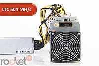 Asic Bitmain Antminer L3+ 504 MH/s + БП Bitmain 1600 Вт (Litecoin)
