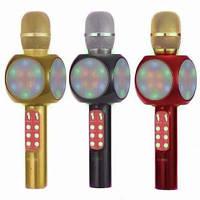 Ручной Беспроводной Вокальный Караоке Микрофон DM 1816 Bluetooth Karaoke
