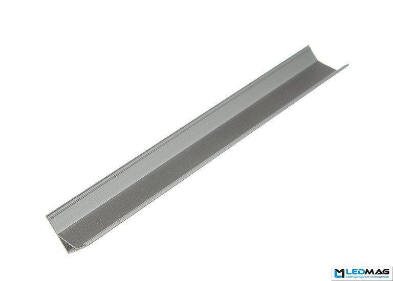 Угловой профиль для светодиодной ленты F5 алюминиевый