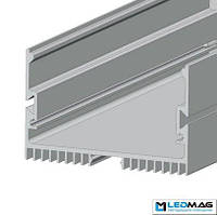 Профиль для светодиодной ленты накладной LS-70 алюминиевый