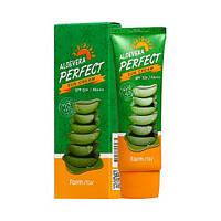 Солнцезащитный крем Farm Stay Alovera Perfect Sun Cream SPF50+ PA+++