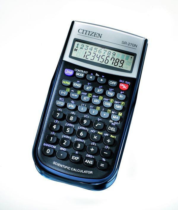 Калькулятор Citizen SR-270N научный, 236 формул