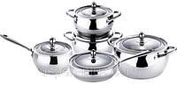 14.Набор кастрюль Bergner BG - особенности приготовления пищи в высококачественной посуде