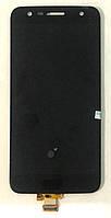 Модуль (дисплей+сенсор) для LG K10 Power M320G, K10 Power X500, X power2 чорний