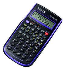 Калькулятор Citizen SR-270N научный, 236 формул, фото 3