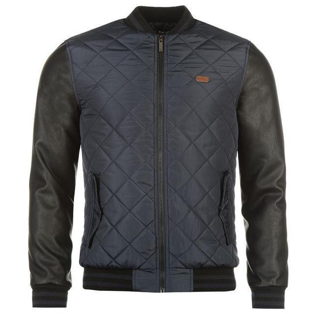 Мужская куртка бомбер Lee Cooper синяя оригинал J0028/28