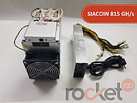 Asic Bitmain Antminer A3 815 GH/s + БП Bitmain 1600 Вт (Siacoin)