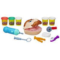Творчество , Набор для лепки Стоматолог мр.Зубастик Play-Doh Doctor Drilln Fill Retro Pack
