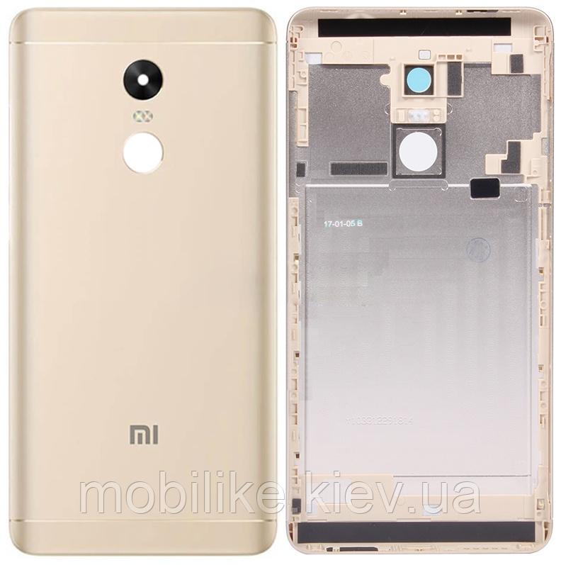 Задня кришка Xiaomi Redmi Note 4 GOLD