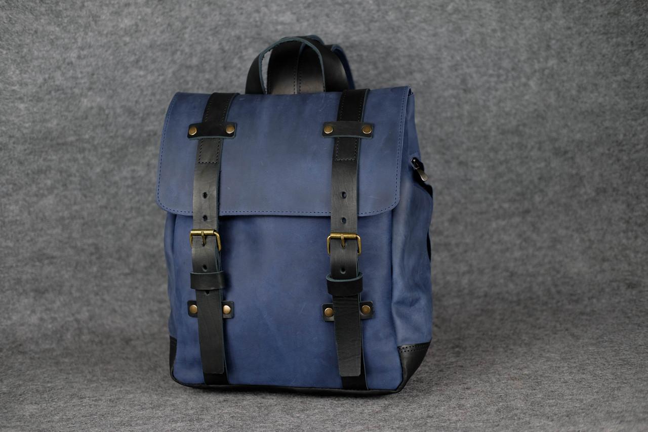 Мужской рюкзак HANKLE H1 |13225| Синий+Черный