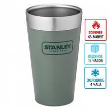 Термостакан Stanley Adventure Stacking (0.47л), зеленый