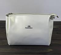 Женская сумка белового перламутрового цвета, фото 1