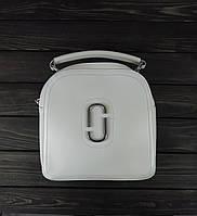Сумка рюкзак белого цвета, фото 1