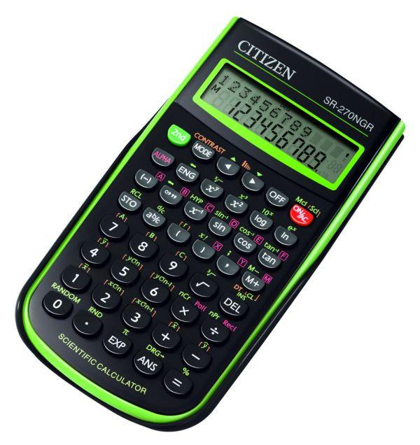 Калькулятор Citizen SR-270NGR научный, 236 формул