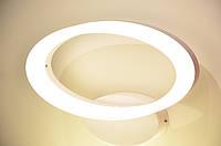 Світильник настінний 260mm SMD LED 10W 4000K хром 825Lm 85-265v