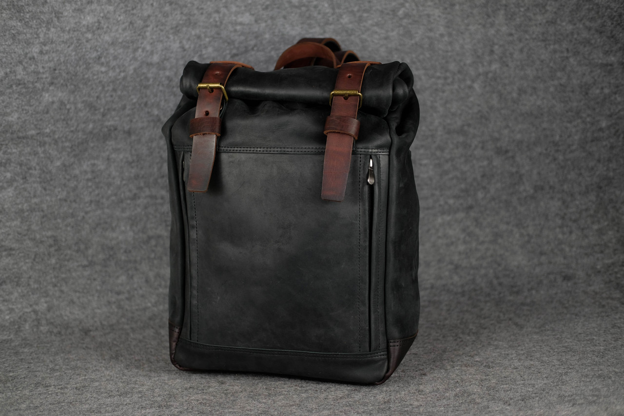 Мужской рюкзак HANKLE H7  13229  Черный+Вишня