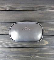 Серая женская барсетка на пояс, фото 1
