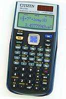 Citizen SR-270X калькулятор научный, 251 формула, уравнения, 2-х строчный дисплей