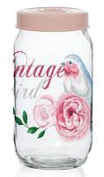 Банка Herevin Vintage birds 1000 мл 171541-050