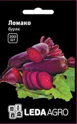 "Семена свеклы Ломако, 200 сем., столовой цилиндрической, ТМ ""ЛедаАгро"""