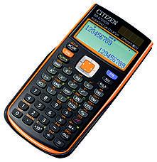 Калькулятор Citizen SR-270XGR научный, 251 формула, уравнения, 2-х строчный дисплей, фото 2