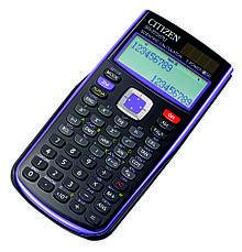 Калькулятор Citizen SR-270XGR научный, 251 формула, уравнения, 2-х строчный дисплей, фото 3