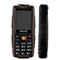 Защищенный неубиваемый кнопочный телефон Vkworld V3 New - IP67, 2,4 дюйма, 3000 мАч