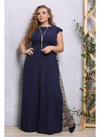 Женское стильное платье в пол Дина / размер 48-72